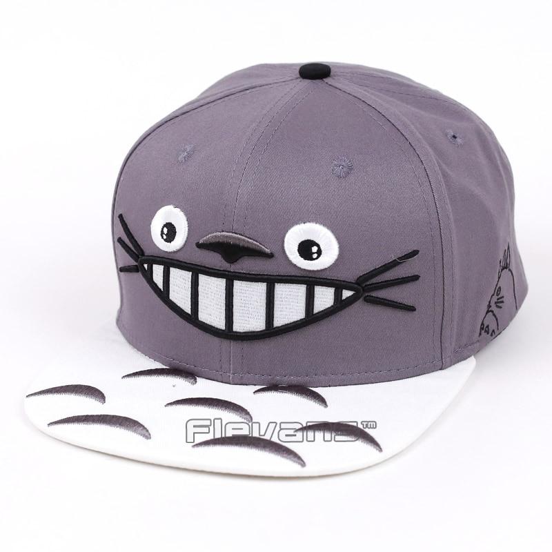 My Neighbor Totoro Snapback Baseball Hip Hop Caps Cartoon Casual Summer Sun Hats Couple Caps Women Men