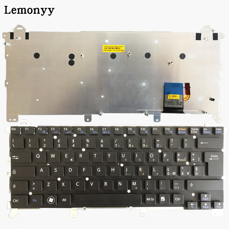 Clavier d'ordinateur portable italien pour SONY VAIO vpc z1 vpcz1 PCG-31113T 31112 T 31111 T IT clavier