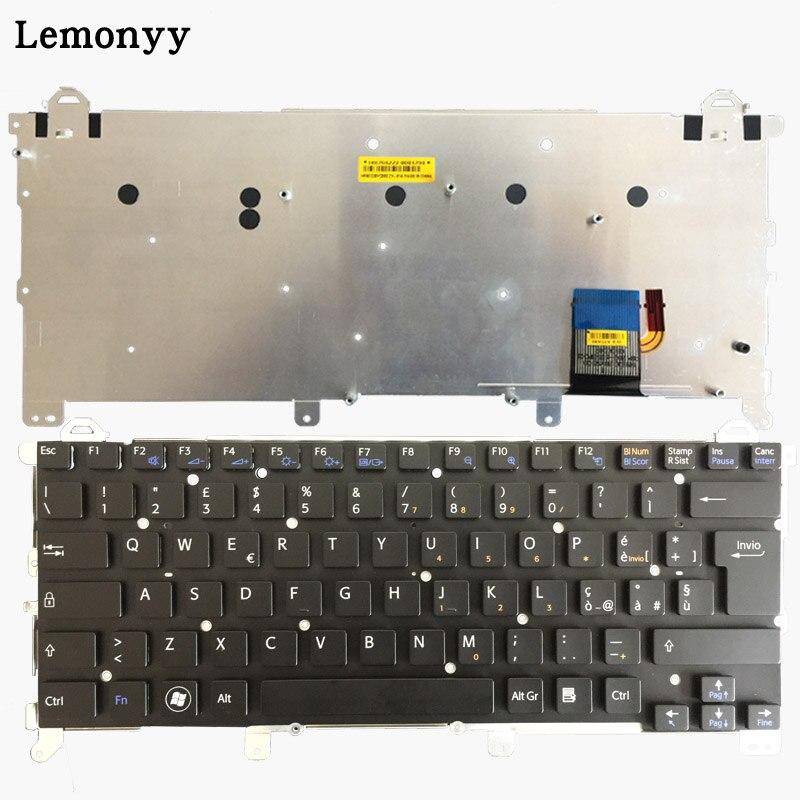 Italian laptop keyboard for SONY VAIO vpc z1 vpcz1 PCG-31113T 31112T 31111T IT keyboard ssea new laptop us keyboard for sony vaio vpc eh vpceh series pcg 71811l pcg 71811m pcg 71811w pcg 71911l