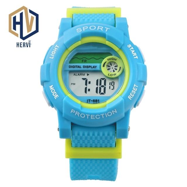 631b0194b 2018 Top Brand Dropshipping Sport Digital Men Watch Male Fashion 50M Waterproof  Watches Smart Automatic Electronic Wacth H681-C