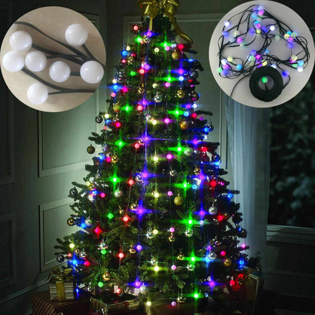Albero Di Natale Led.Christmas Tree 64 Led Lights Ball Handing Ornament New Year Christmas Decorations For Home Outdoor Sfere Per Albero Di Natale Decorations For Home Decorative Decorativedecoration For Christmas Aliexpress