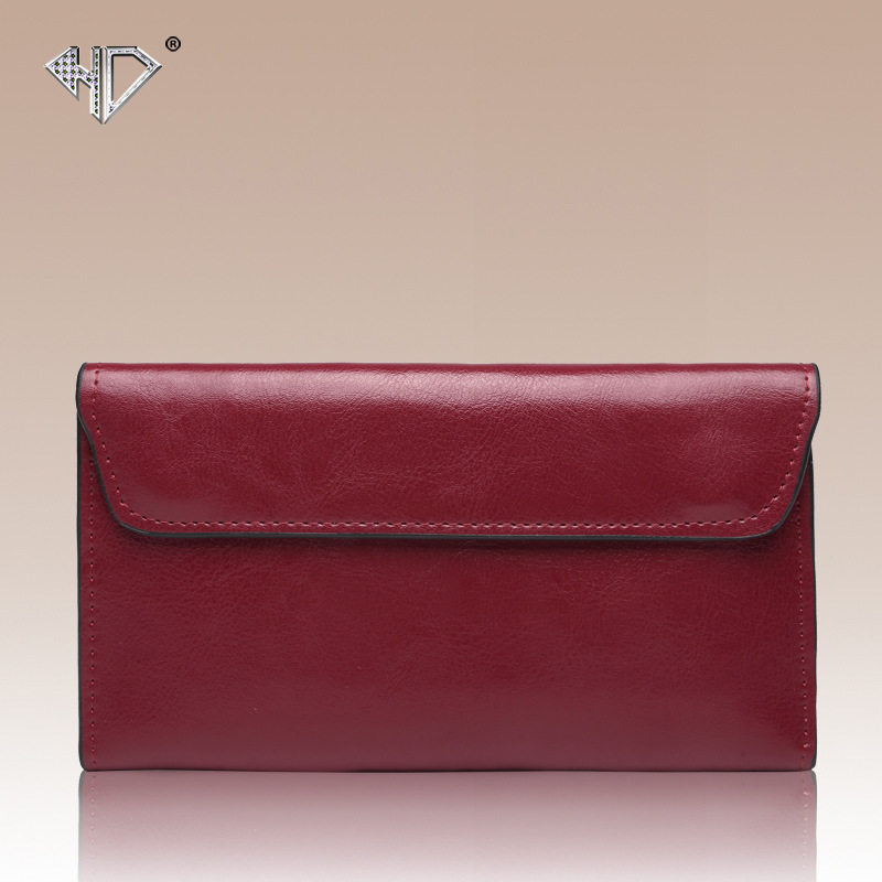 New Design Fashion Leather Women Lady Purse Long Burgundy Wine Red Coin Case Cell Mobile Iphone Handy Clutch Bag Wallet Quality new hot sale envelope clutch handy bag fashion brand long women lady purse cell mobile iphone card case evening party wallet