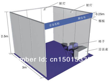 Exhibition Booth Height : Exhibition booth fair display stand aluminum profiles on aliexpress