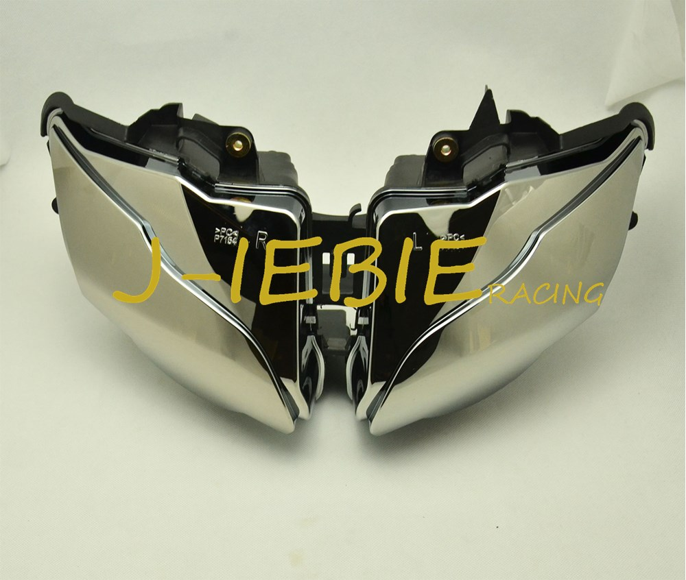 Chrome Front Headlight Head Light Lamp Assembly For Honda CBR1000RR CBR1000 CBR 1000 RR 2008 2009 2010 2011