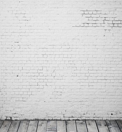 Custom brick wall wood floor photography backdrops for wedding kids portrait photo studio background photographic props S-126 wooden floor and brick wall photography backdrops computer printing thin vinyl background for photo studio s 1120
