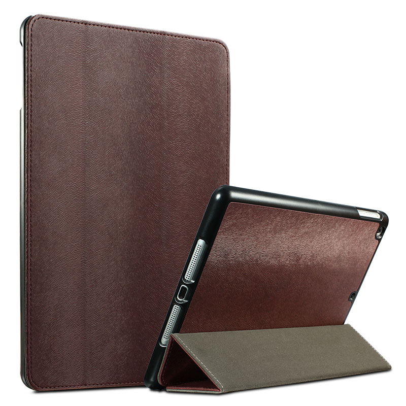 Case For iPad Air 1 PU Leather Squirrel Hair Pattern Full Protective Shell Flip Style Cover for Apple iPad Air 1 paris eiffel tower style protective pu leather case for ipad mini brown red