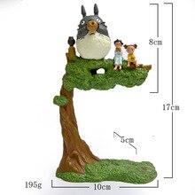 Plus size Totoro tree Action & toy figures Studio Ghibli My Neighbor Tonari no Totoro Hayao Miyazaki Anime Garden Figures 108w