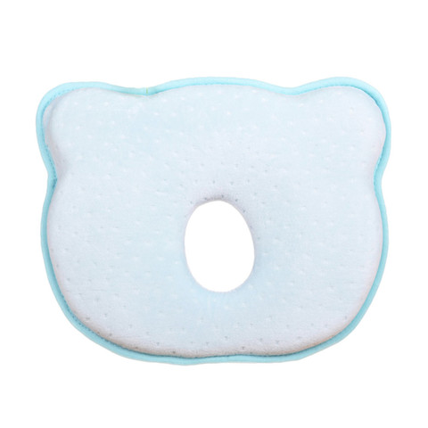 Hot Infantil Newborn Baby Pillow Baby Room Soft Infant Baby Pillow Prevent Flat Head Memory Foam Cushion Sleeping Support Lahore