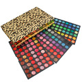 180 Mujeres de Los Colores de Sombra de Ojos MAQUILLAJE Paleta de barra de Labios Con Leopard Caja de Colorantes Jabon Párr Set de Maquillaje Para Niñas Freeshipping