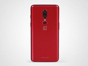 """Image 5 - Original nova versão de desbloqueio oneplus 6 telefone móvel 4g lte 6.28 """"8 gb ram 128 gb duplo sim cartão snapdragon 845 android smartphone"""