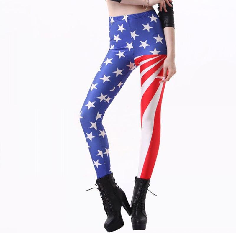 American USA Flag Womens Leggings For Women Printed Leggings Casual Legging font b Fitness b font