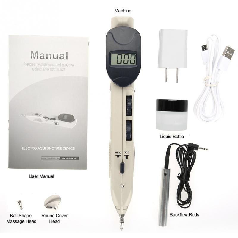Body Massage Instrument Digital Electronic Acupuncture Health Care Pulse Massage Device Health Care Tool 110-240V multifunctional self massage rubbing shower brushes skin massage health care body massage tool