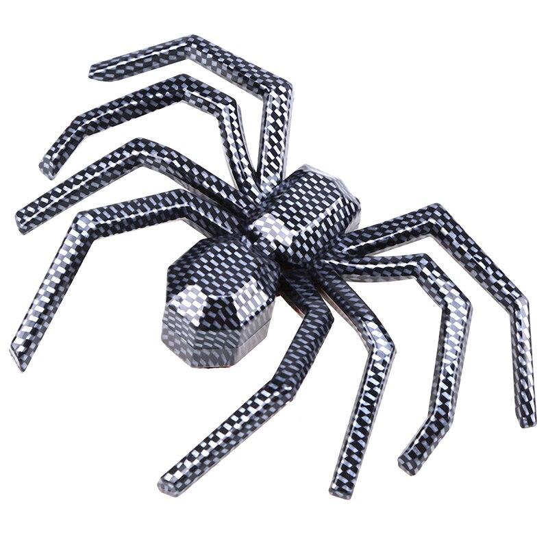 Possbay Kohlefaser 3d Cartoon Spider Aufkleber Und Abziehbilder Auto