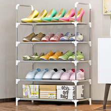 Shoe Rack Nonwovens Multiple layers Shoes Easy Assembled Shelf Storage Organizer Stand Holder Keep Room Neat Door Space Saving