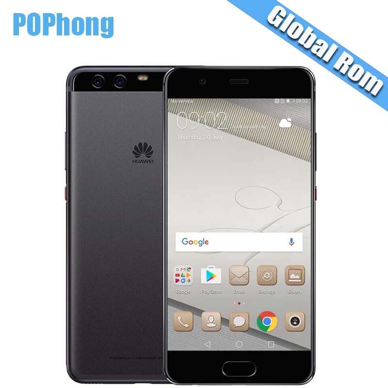 Global ROM huawei P10 плюс 4G LTE Мобильного Телефона KIRIN 960 Octa Core 5,5 дюймов 2560*1440 P двойной сзади отпечаток пальца камеры