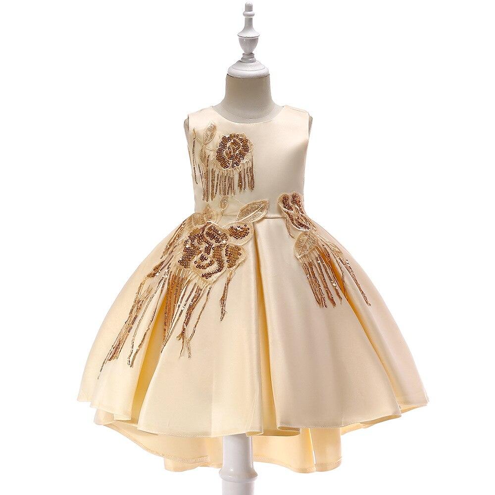 2019   Girls   Pageant   Dresses   For Weddings Ball Gown Sequins Ruffles   Flower     Girl     Dresses   For Little   Girls