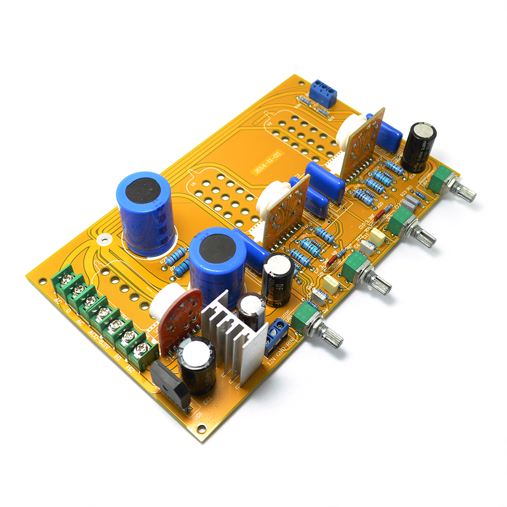 6n1 J6h23 6dj8 6922 6z4 Tube Tone Preamplifier Tuning Board Amplifiers For Speaker In Amplifier From Consumer Electronics On Pcb Audio Power Circuit Quotes