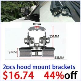 2pcs hood bracket