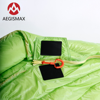 AEGISMAX MINI 800FP White Goose Down Mummy Adult Outdoor Camping Ultralight Spring Autumn Summer Three-Season Sleeping Bag 2