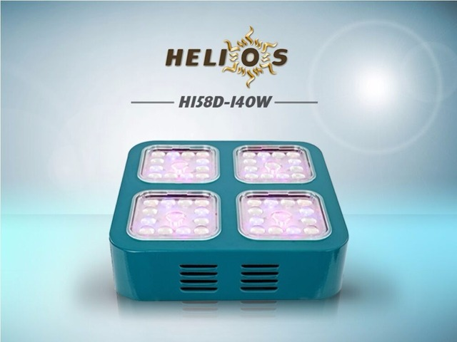 Helios LED grow light 3watts CREE LEDs full spectrum optical lens module design indoor plants grow & Helios LED grow light 3watts CREE LEDs full spectrum optical lens ...