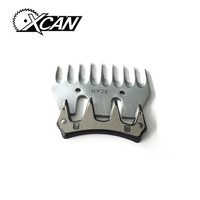 10PCS 9T Replaceable Sheep Goats Shearing Clipper Straight Tooth Blade Alternative