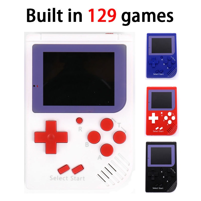 Myohya Portable Child Game Player Support Tv Out Color