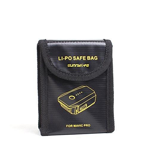 LiPo Battery Guard Safe Bag Battery Charging Protection Explosion Proof Bag for DJI Mavic Pro F19780