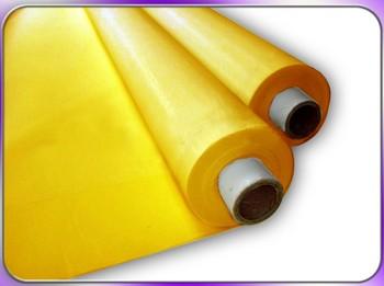 Free shipping Yellow 6Meters 300 Mesh (120T)  Screen Printing Fabric Mesh Silk Screen Press Printing