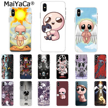 97c8dd309df05e MaiYaCa the binding of isaac Black Soft Shell Phone Cover for Apple iPhone  8 7 6