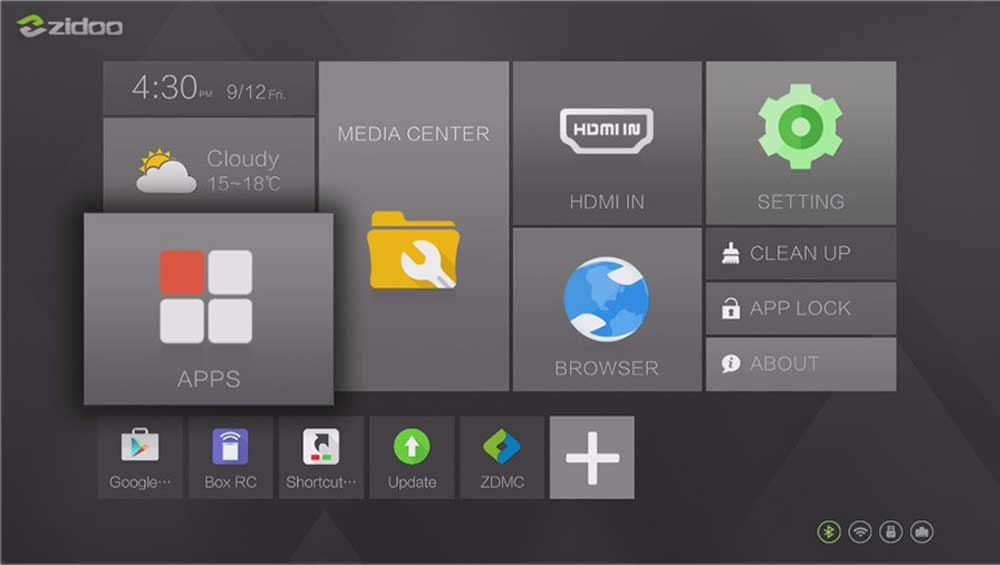 ZIDOO X9S 4K*60fps HD HDMI 2.0 Android 6.0 Quad-Core TV box ZIDOO X9S 4K*60fps HD HDMI 2.0 Android 6.0 Quad-Core TV box HTB1B6