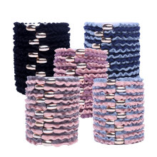 Get more info on the 10pcs Elastic Hair Bands for Hair Styling Hair Holder Ties Kids Girls Women Braiding Ruffle Hairband Color Rubber Bands Scrunchy