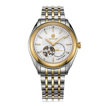 BINLUN Men's Automatic Tourbillon Business Dress Watch Stainless Steel Large Face Watches with Date