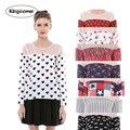 15 цвета 2016 лето горячие стиль большой размер женская сращивание длинным рукавом шифон рубашки женщины цветочные блузки топы XXXL J2035