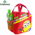 Kids Lunch Bag Children Cartoon Picnic Bag Minions Hello Kitty Bag Thermos Food Container Insulated Oxford Thermo Lunch Box