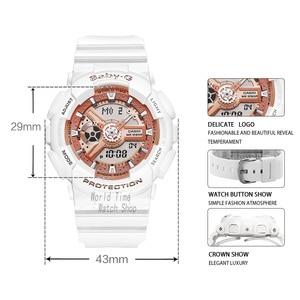 Image 2 - Casio İzle Bebek G Kadın Saatler Lüks Marka Set LED Saatler Dijital Bilek İzle 100 m Su Geçirmez Chronograph Askeri İzle Kadınlar Kız Favori Dalgıçlar Kadınlar için Şok Dayanıklı Saatler Kuvars Spor Bayanlar İzle часы