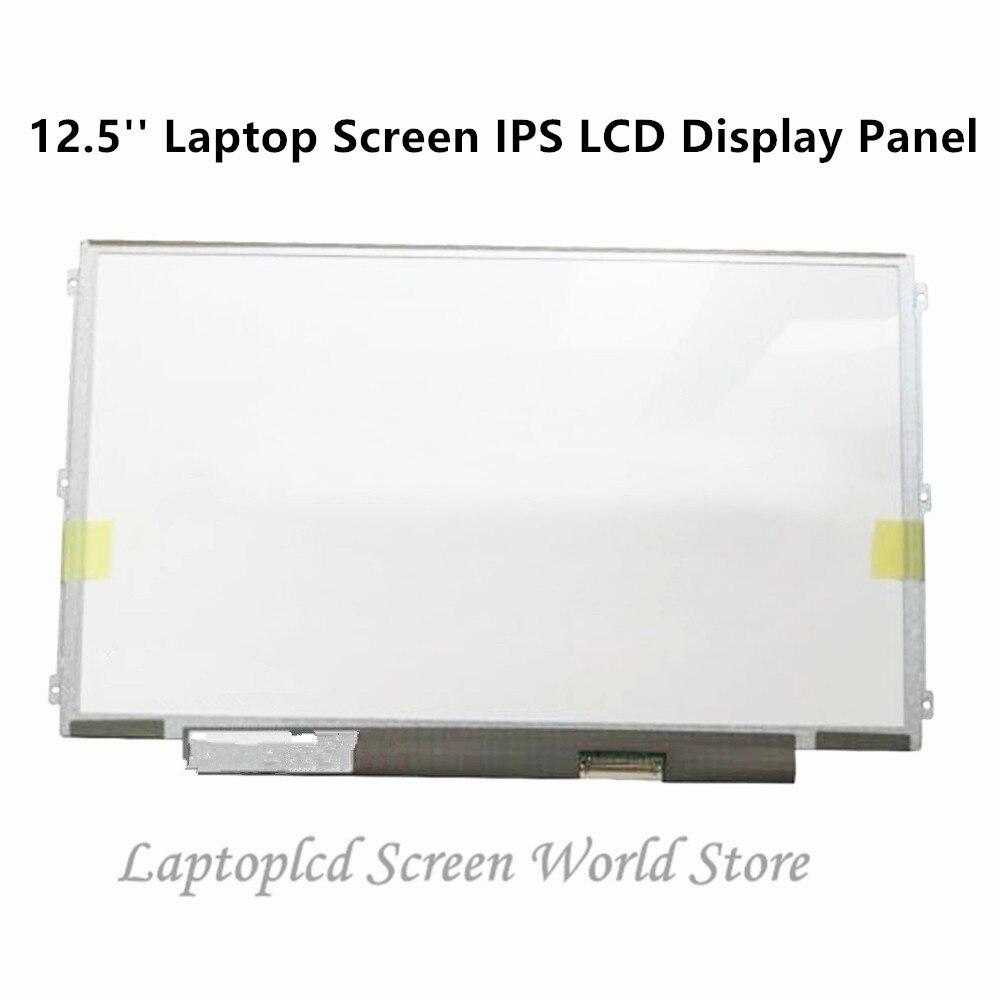 FTDLCD 12.5'' Laptop Screen IPS LCD Display Panel For Lenovo Thinkpad X230S X240 K2450 1366x768