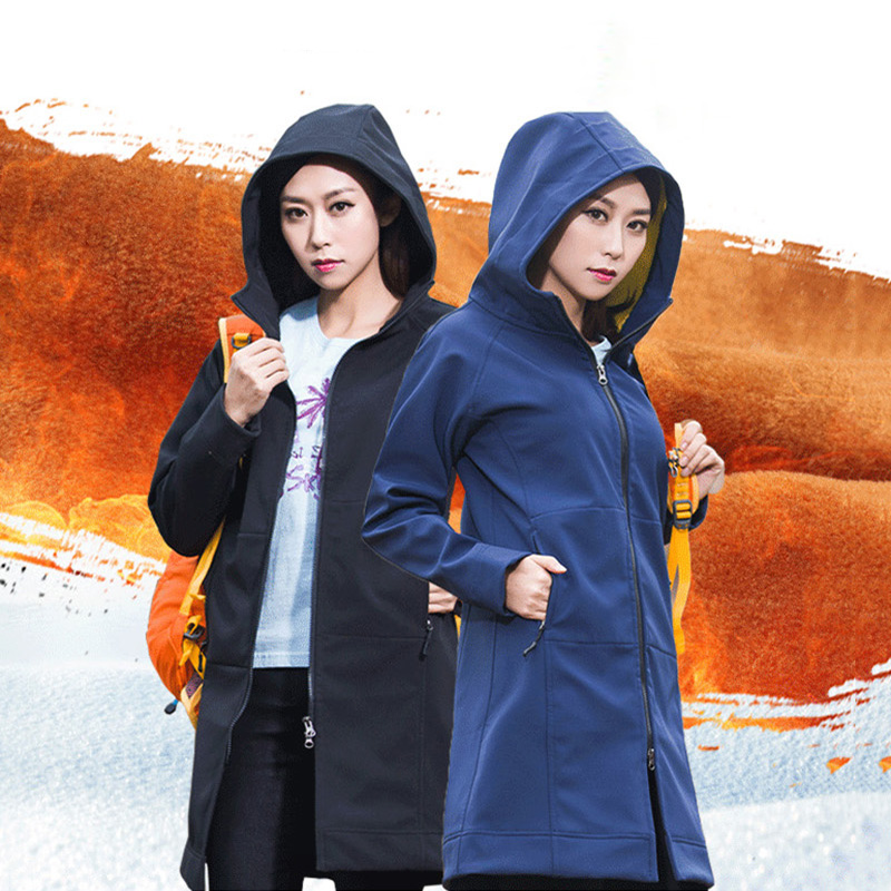 Windbreaker Jacket Women Softshell Ski Jackets Waterproof Sports Clothes Outdoor Winter Windproof Skiing Camping Hiking Clothing camouflage soft shell woman winter ski jackets outdoor waterproof skiing and skateboard clothing for women 2017 new hot sale