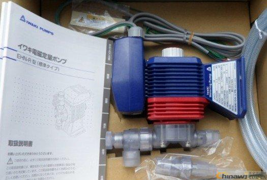 Original import iwaki metering pump EHN series EHN-B31VC / 4R dfd 03 07 m new electromagnetic metering pump 3 liters 7 kg pressure metering pump corrosion resistance