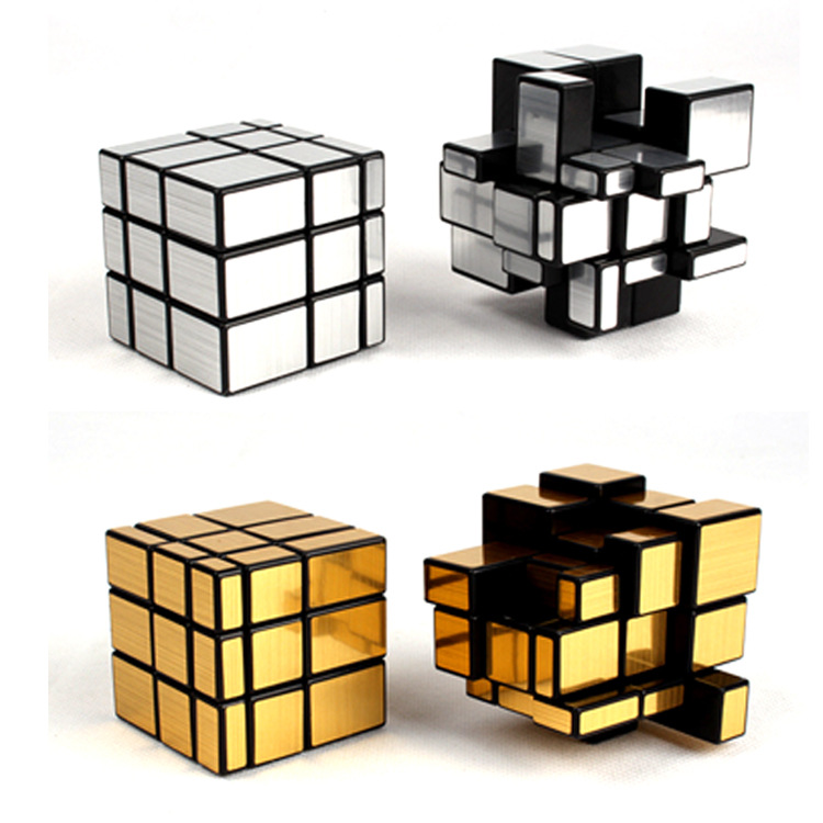2019 New Style Ocday 3x3x3 Mirror Cubes Blocks Silver Cast Coated Shiny Magic Cube Puzzle Brain Teaser Iq Worldwide Educational Toy New Sale For Fast Shipping Toys & Hobbies