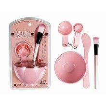 Женский набор для красоты DIY маска для лица инструмент чаша для приготовления маски для лица+ палочка для перемешивания+ кисть для маски+ мерная ложка наборы инструментов для макияжа-15