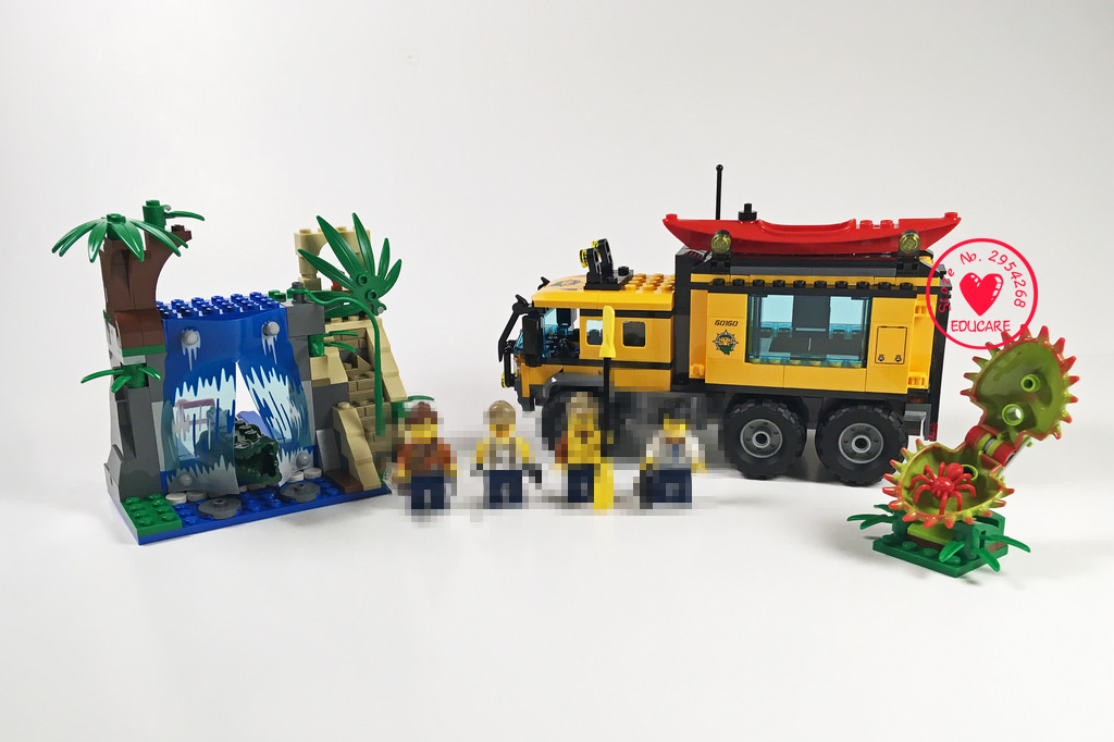 New City series Jungle Cargo Helicopter fit legoings city jungle figures model Building Blocks Bricks boys Toys 60160gift kid lepin 02064 404pcs city series jungle semi track car model building blocks bricks toys for children action figures