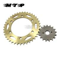 Motorcycle 17 T front&40 T Rear 530 Chain Sprockets For Suzuki GSXR750 96 97 GSXR1300 99 07 GSXR 750 1300 TL1000 97 02 Gearwheel