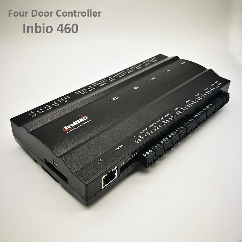 ZK Inbio460 Tcp Ip Access Control System Four door Security Access Controller IP based Multi Door