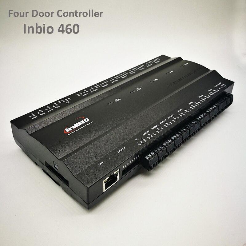 ZK Inbio460 Tcp/Ip Access Control System Four Door Security Access Controller IP-based Multi Door Access Control Panel Inbio 460