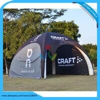 Водостойкая быстрая автоматическая открывающаяся индивидуальная ПВХ брезент надувные ноги купольная палатка надувная палатка шатер Нару