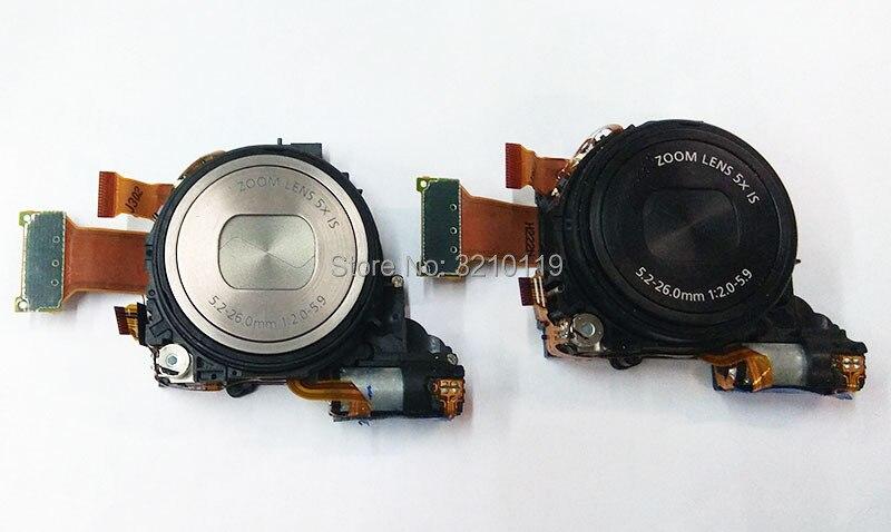 Gratis verzending 95% NIEUWE Echt Digitale Camera Accessoires optische zoom lens unit canon S100 S100V PC1675 lens met ccd-in Sport camcorder Hoesjes van Consumentenelektronica op  Groep 1