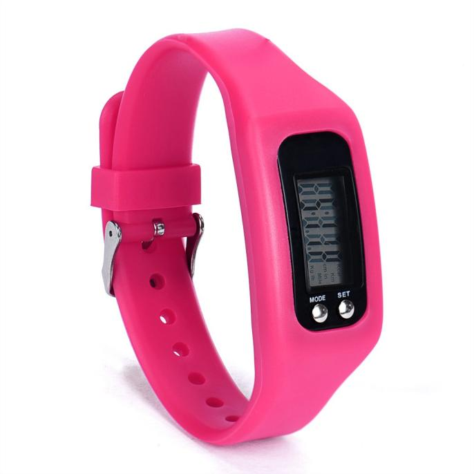 Здесь продается  NEW sports digital watches silicone material red pink color LED clock for children time gift  Часы