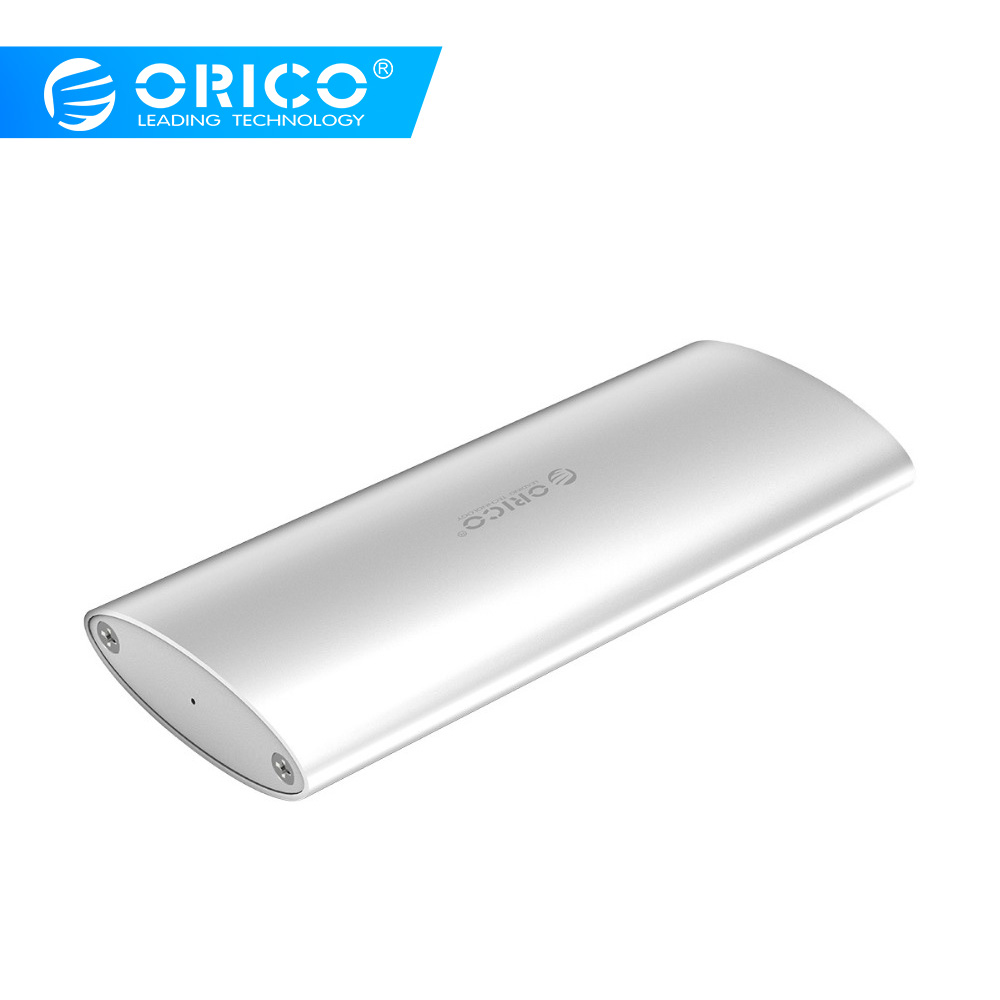 ORICO SSD Case Aluminum Alloy M.2 To Type-C High-speed SSD Enclosure 5Gbps USB3.0 Hard Drive Box For Windows/Mac/Linux