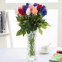 Simulated Rose Fake Flower Moisturizing Lover Hand-felt Bud Artificial Supplies Silk Flowers For Home Decoration