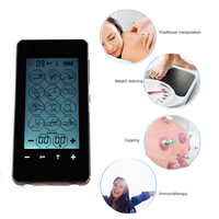 LCD Screen Pulse massager Acupuncture Therapy Machine Multifunction touch screen Massager 4 Electrode Pad Muscle Stimulator ems